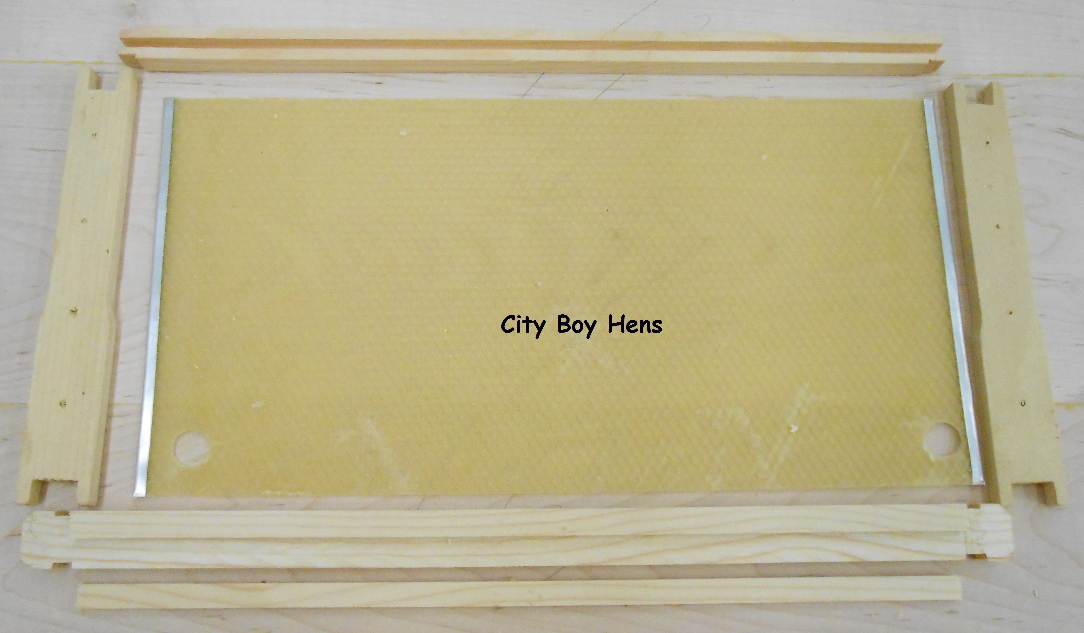 Making Some Honey Bee Frames | City Boy Hens