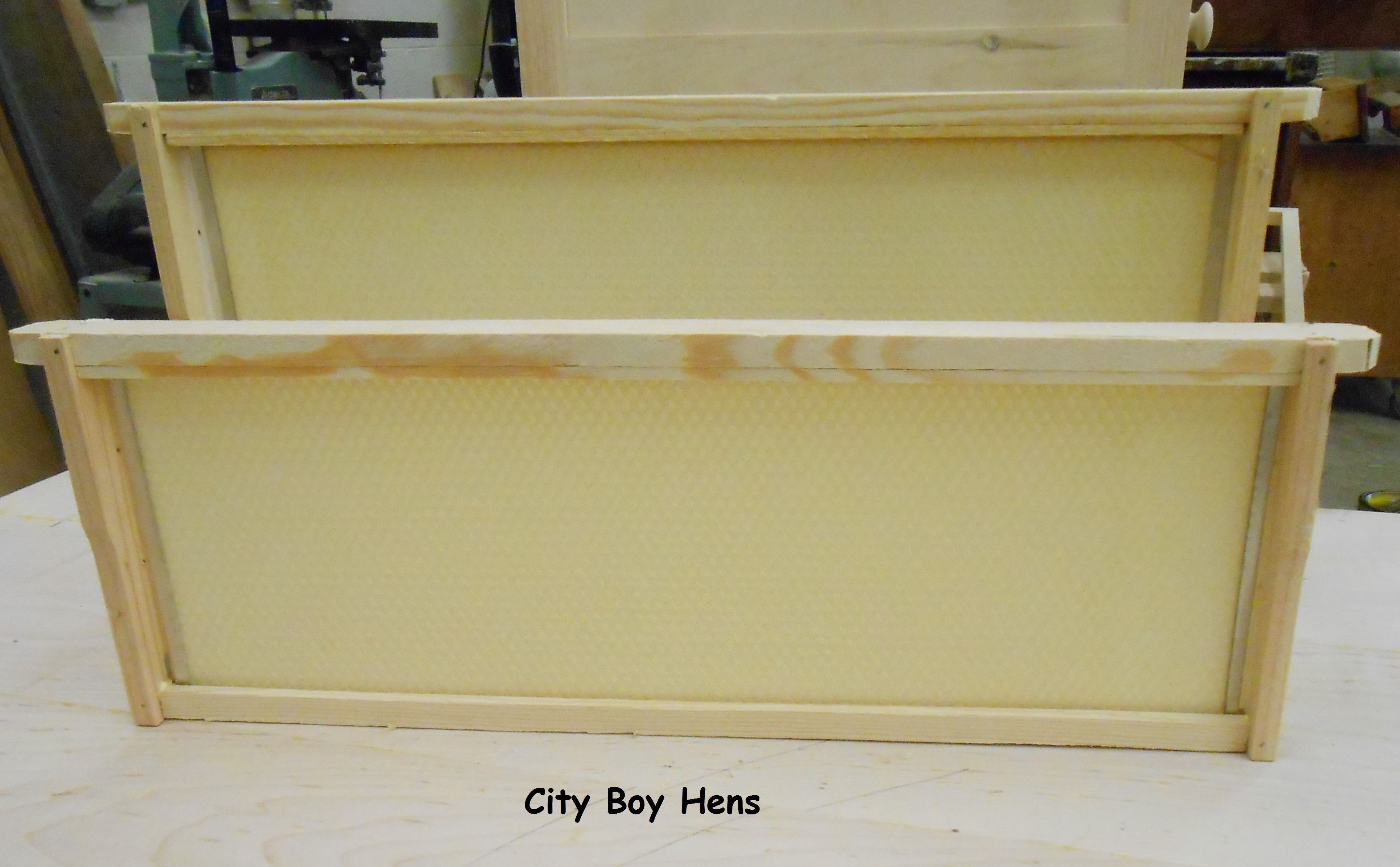 Making Some Honey Bee Frames | City Boy Hens