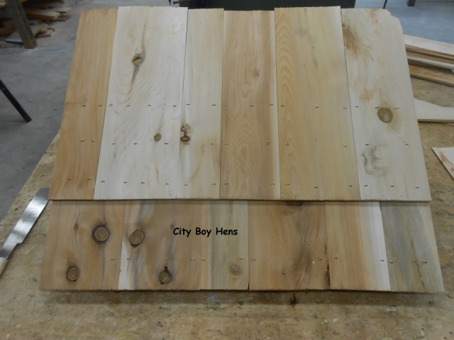 How To Make A Ventilated Gabled Beehive Roof City Boy Hens